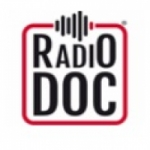 Logo da emissora Radio DOC 105.8 FM
