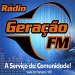 Logo da emissora Rádio Geração 104.9 FM