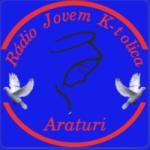 Logo da emissora Rádio Jovem K-tolica