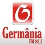 Logo da emissora Rádio Germânia 88.3 FM