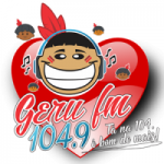 Logo da emissora Rádio Geru 104.9 FM