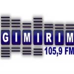 Logo da emissora Rádio Gimirim 105.9 FM