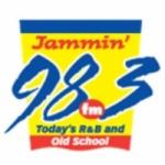 Logo da emissora WJMR 98.3 FM Jammin