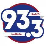 Logo da emissora Rádio FM 93.3 Maringá