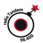 Logo da emissora Radio Tandem 98.4 FM