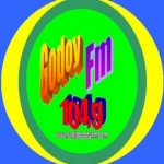 Logo da emissora Rádio Godoy 104.9 FM