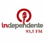 Logo da emissora Rádio Independente 93.5 FM
