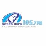 Logo da emissora Rádio Gospa Mira 105.7 FM