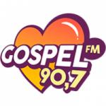 Logo da emissora Rádio Gospel 90.7 FM