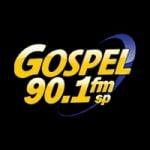 Logo da emissora Rádio Gospel 90.1 FM