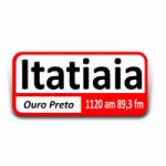 Logo da emissora Rádio Itatiaia 1120 AM 89.3 FM