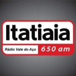 Logo da emissora Rádio Itatiaia 650 AM