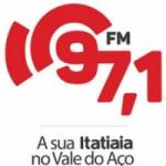 Logo da emissora Rádio Itatiaia 97.1 FM