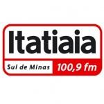 Logo da emissora Rádio Itatiaia 100.9 FM