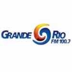 Logo da emissora Rádio Grande Rio 100.7 FM