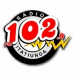 Logo da emissora Rádio Itatiunga 102.9 FM