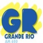 Logo da emissora Rádio Grande Rio 680 AM