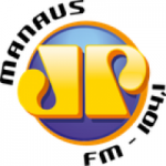 Logo da emissora Rádio Jovempan 104.1 FM