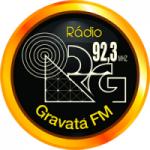 Logo da emissora Rádio Gravatá 92.3 FM