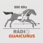 Logo da emissora Rádio Guaicurus 890 AM