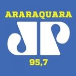 Logo da emissora Rádio Jovempan FM 95.7