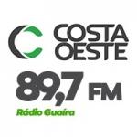 Logo da emissora Rádio Guaíra 89.7 FM
