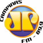 Logo da emissora Rádio Jovempan 89.9 FM