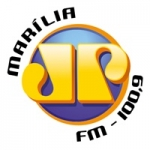 Logo da emissora Rádio Jovempan 100.9 FM