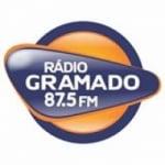 Logo da emissora Rádio Gramado 87.5 FM
