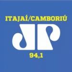 Logo da emissora Rádio Jovempan 94.1 FM