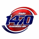 Logo da emissora Rádio Guanacés 1470 AM