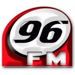Logo da emissora Rádio Guanambi 96.3 FM