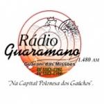 Logo da emissora Rádio Guaramano 1480 AM