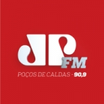Logo da emissora Rádio Jovempan 90.9 FM