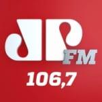 Logo da emissora Rádio Jovempan 106.7 FM