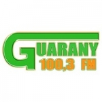 Logo da emissora Rádio Guarany 100.3 FM