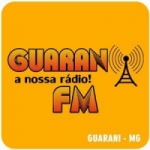 Logo da emissora Rádio Guarany 105.9 FM