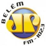 Logo da emissora Rádio Jovempan 102.3 FM