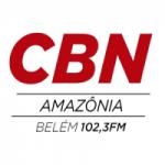 Logo da emissora Rádio CBN 102.3 FM