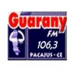 Logo da emissora Rádio Guarany 104.9 FM