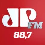 Logo da emissora Rádio Jovempan 88.7 FM