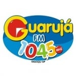 Logo da emissora Rádio Guarujá 104.5 FM