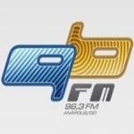 Logo da emissora Rádio 96 FM