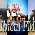 Logo da emissora Rádio Ibicuí 104.9 FM