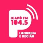 Logo da emissora Rádio Igapó 104.5 FM