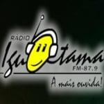 Logo da emissora Rádio Iguatama 87.9 FM