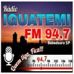 Logo da emissora Rádio Iguatemi 94.7 FM