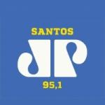Logo da emissora Rádio Jovempan 95.1 FM