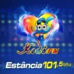 Logo da emissora Rádio Xodó 101.5 FM