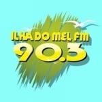 Logo da emissora Rádio Ilha do Mel 90.3 FM